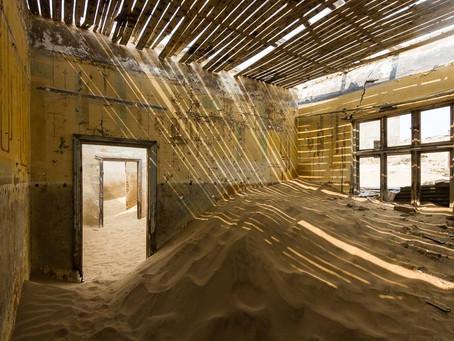 """NAMIBIA: """"Kolmanskop, la città fantasma"""""""