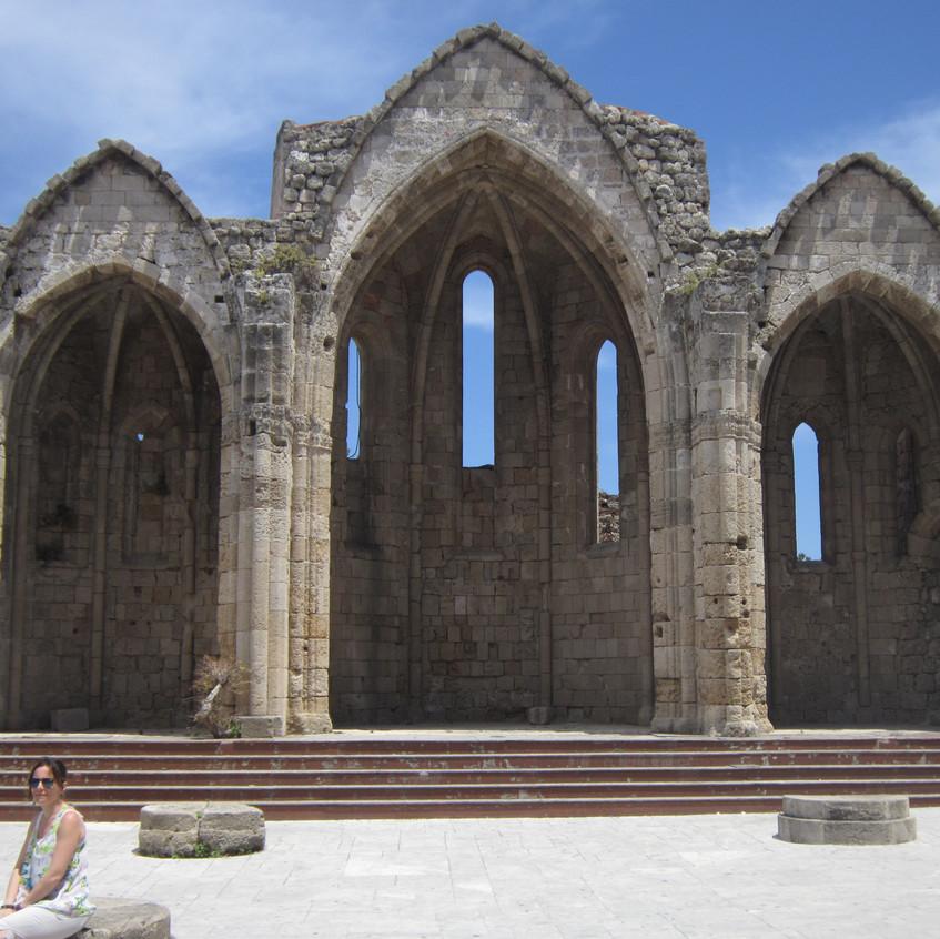 Rodi città Chiesa di Panaghia Tou Bourgou