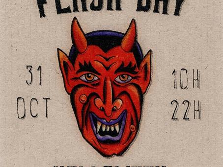 Halloween Flashday  Samedi 31 octobre