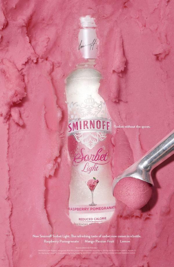 Smirnoff Sorbet Light Vodka Advert