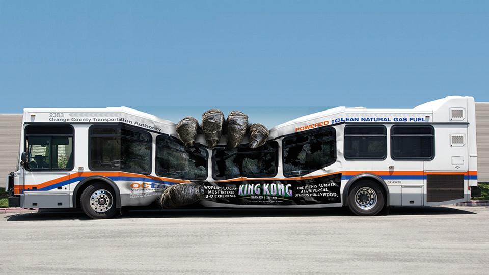 King Kong Guerilla Marketing Bus