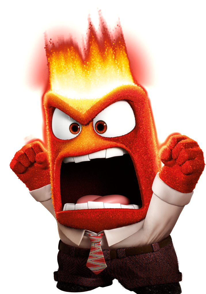 Inside Out Film Anger