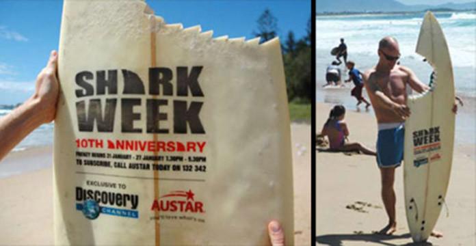 Discovery Channel Guerilla Marketing shark week