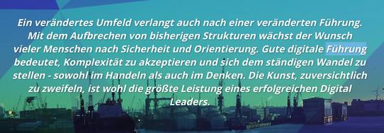"V.I.E.L Leadership LAB ""Digitalisierung braucht Haltung"""