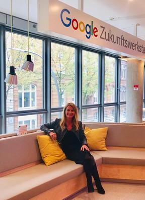 """Lernen mit den """"Großen"""". Google Zukunftswerkstatt"""