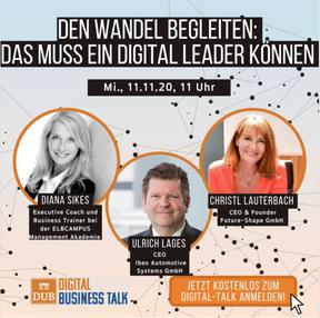 Deutsche Unternehmer Akademie, Business Talk 11.11.2020