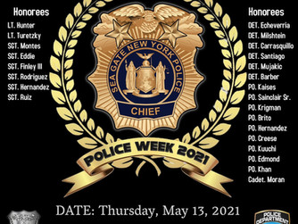 Sea Gate Police Department NY National Police Week Awards & Memorial Ceremony