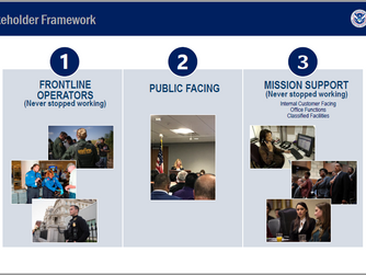 DHS Opening Up America Again Implementation Strategy May 2020 Industry Briefing