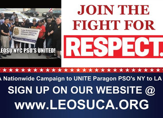 Paragon Systems Inc Los Angeles PSO's Are Joining & Uniting with NYC PSO's for the Fight