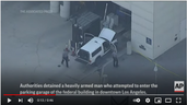 Paragon PSO's Stop Armed Man Wearing Body Armor from Entering Los Angeles Federal Building