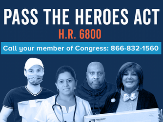 TELL CONGRESS: SUPPORT H.R. 6800, THE HEROES ACT