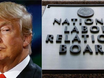 Trump's NLRB Issues Three Anti-Union Rulings - Christmas came a week early for anti-union bosses