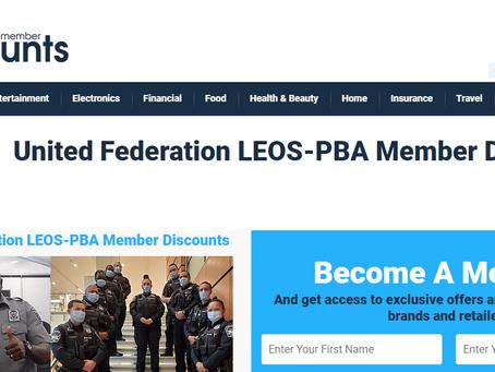 Take Advantage of the United Federation LEOS-PBA Member Discounts Benefits