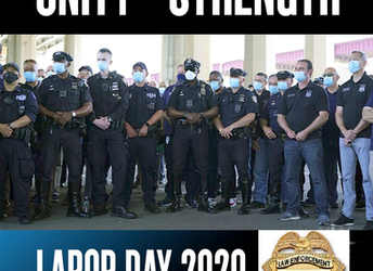 Happy Labor Day 2020 From LEOSU-DC Unity = Strength