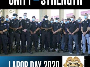 Happy Labor Day 2020 From LEOSU-DC Unity = Strength
