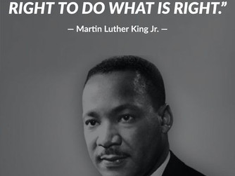 Today we all celebrate the legacy of MLK