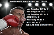 LEOSU Scores Another KNOCKOUT This Time by a Score of 147 to 4 In Los Angeles California