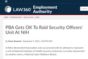 NLRB Rules in Favor of United Federation LEOS-PBA Paragon Lt's & LSO @ NIH Can Join Our Union