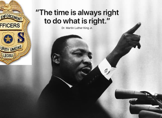 """MLK Day - """"The time is always right to do what is right"""""""
