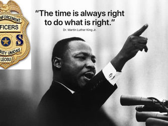 "MLK Day - ""The time is always right to do what is right"""