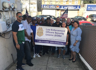 LEOSU / Paragon Systems Inc #NYC Protective Service Officers PSO Cookout Jamaica Queens
