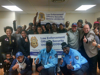 The Fight for $15 Starts in Richmond Virginia as These Allied Universal Officers Vote UNION YES by a