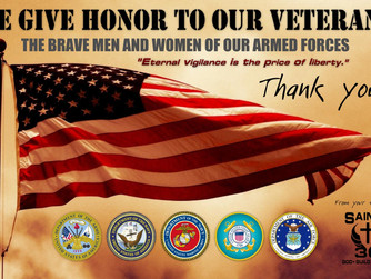 We Give Honor to Our Veterans