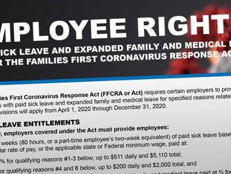 Families First Coronavirus Response Act: Employee Paid Leave Rights