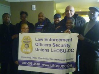 Washington DC Special Police Officers Working at the W Hotel Washington DC VOTE LEOSU-DC UNION YES o