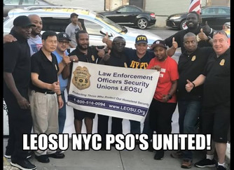 NLRB Certifies The NYC Paragon Systems Election - Congratulations to all NYC PSO's