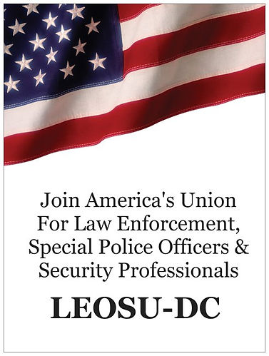 LEOSU-DC, Washington DC Security Union, Law Enforcement Union, Security Guard Union, Special Police Union, Security Police Union