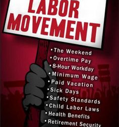 Happy Labor Day - UNITED WE STAND AS ONE VOICE for Better Wages, Better Benefits & Better Workin