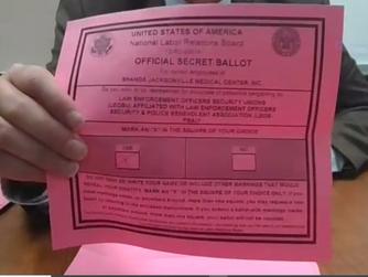 97 Shands Jacksonville Medical Center Security Officers VOTE LEOSU YES