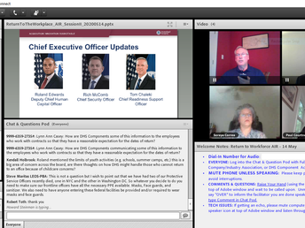 LEOSU-DC, LEOS-PBA has Once Again Participated in and Gave Input to Homeland Security Leaders in our
