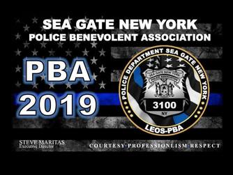 Our New 2019 Sea Gate PBA Courtesy Card