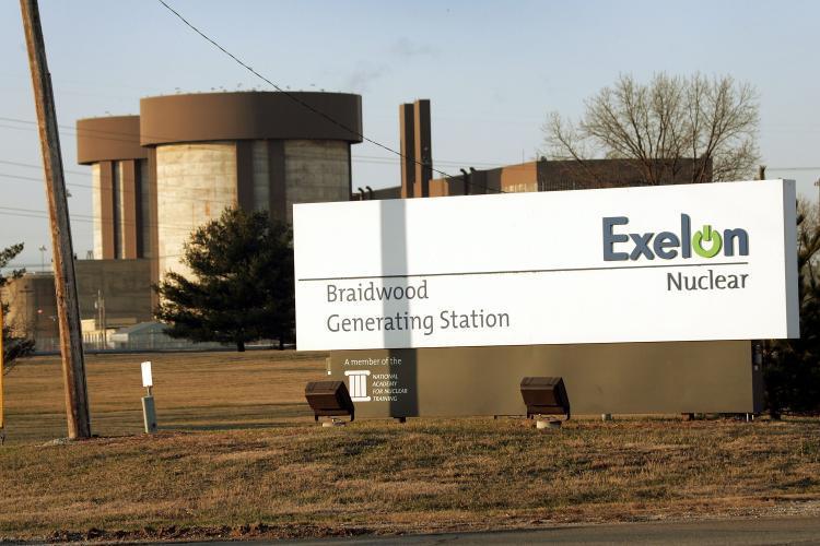 Braidwood Nuclear Power Plant Exelon