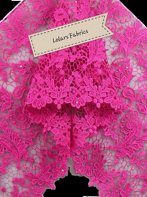 Precious Pink Lace