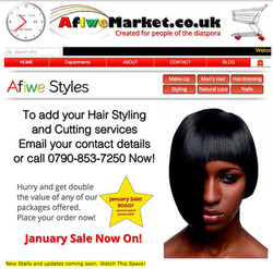 Hairstyling promo