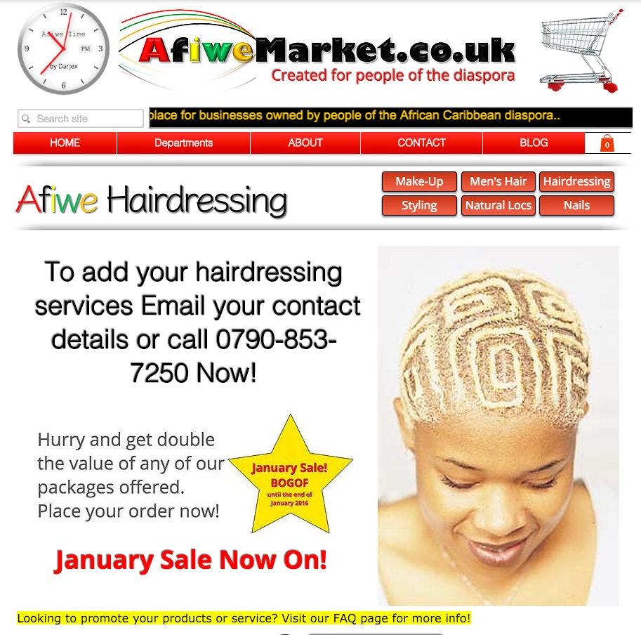 Hairdressing Promo