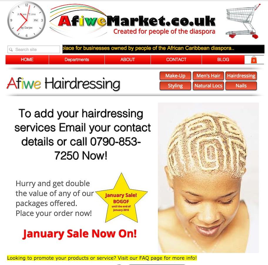 Hairdressing Promo