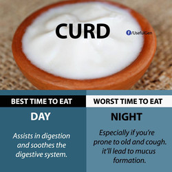 Healthy Eating Curd