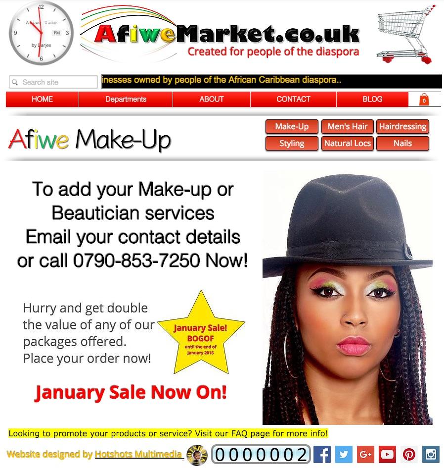 Makeup promo