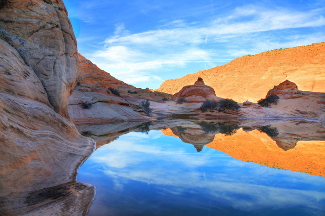 Coyote Buttes Pond