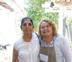 Foto11-Cozinheira-chefe Mary Marinho com Prof. Ved Arora