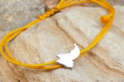 Syros Yellow Bracelet Silver