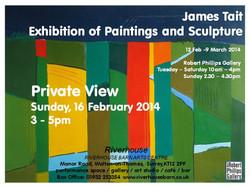 Robert Phillips Gallery Invitation Spring 2014