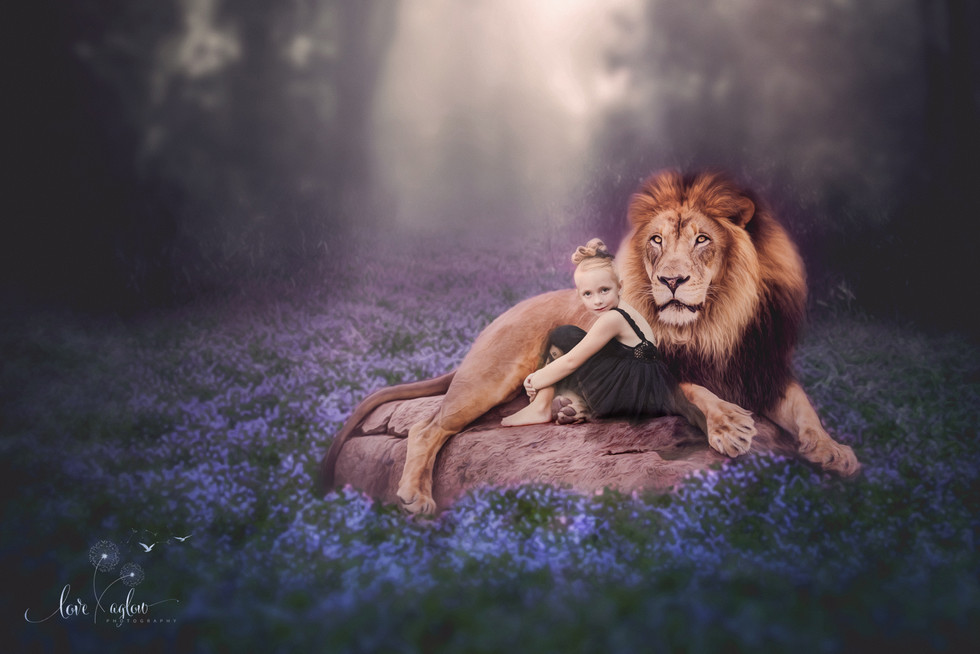 a girl and her lion 2.jpg