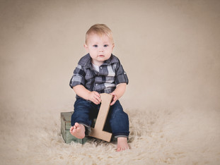 Mr. R's 12 Month Portrait Session