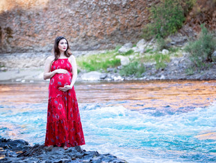 Maternity by the River