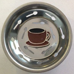 """Espresso"" Sink Stopper"
